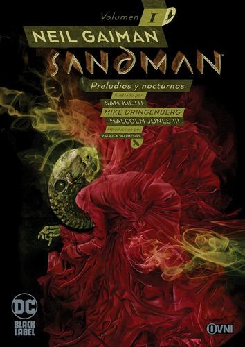 Imagen 1 de 1 de Cómic, Dc, Colección Black Label: Sandman Vol. 1 Ovni Press