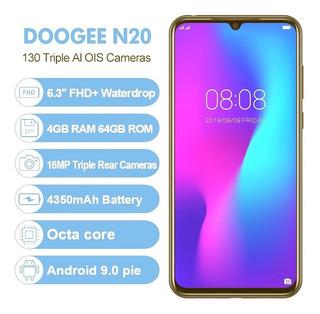 Doogee N20 64gb 4g De 6:3 Novo Lindo Desbloqueado Lançamento