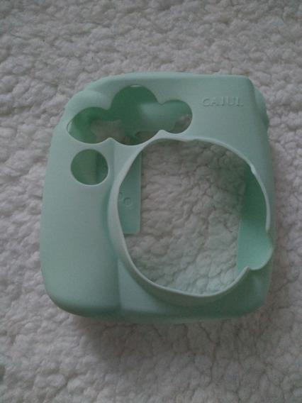 Capinha Instax Mini Fujifilm Verde Claro