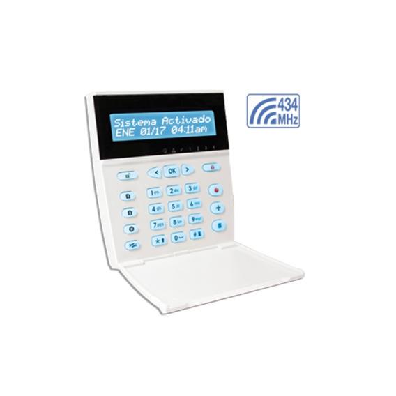Teclado Lcd Con Display 16 Caracteres Garnet Kpd-860rf