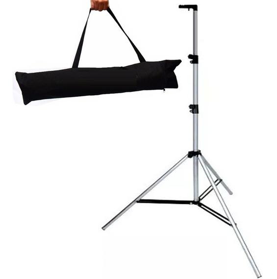Tripé, Pedestal, Banner, Suporte P/ Iluminação C/ Bolsa 2,10
