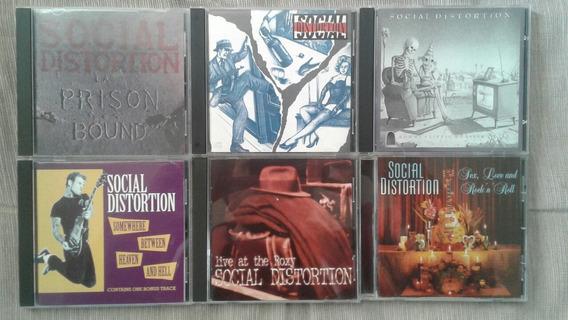 Social Distortion - Lote 6 Cds Importados Ramones