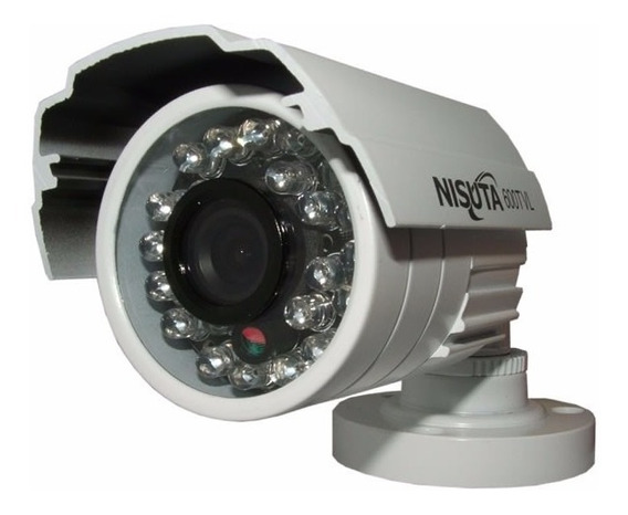 Camara Vigilancia Nisuta Infrarrojo Apto Ext 600tvl Ccd Sony