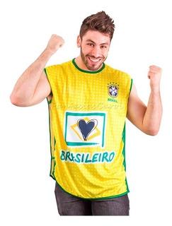 Camisa Oficial Da Torcida Brasileira Original Fifa 2014