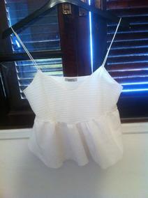 Blusa Branca Zara Verão