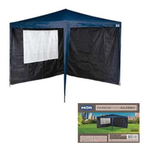 Conjunto Parede Gazebo Tenda Mor 2,95m Proteção Sol E Vento