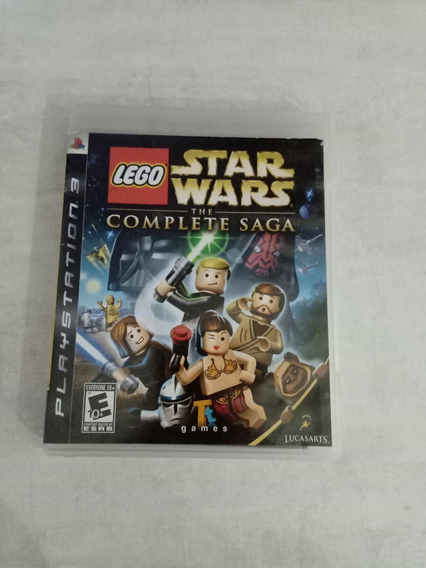Lego Star Wars The Complete Saga Ps3 Mídia Física