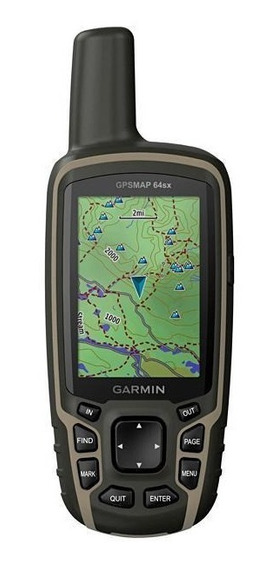 Gps Garmin Gpsmap 64sx 010-02258-10 Tela 2.6 Bluetooth/glona