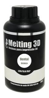 Resina Melting 3d - Branca - Dental