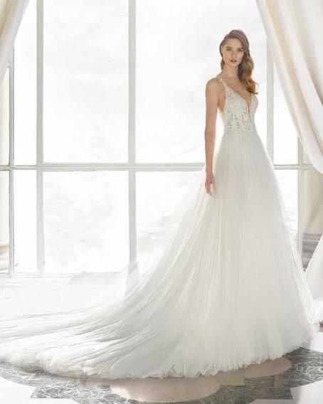 Vestido De Noiva Rosaclará