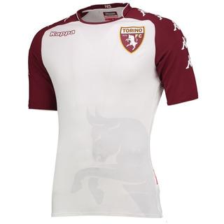 Camisa Kappa Torino Away 18/19 Oficial - Branca E Vernelha