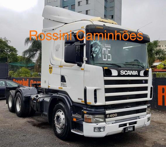 Scania R 124 400 2005 Cavalo Trucado N 1634 2540 Nh 380 113