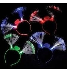 Combo Cotillon Luminoso Vinchas, Anillos, Narices,silvatos