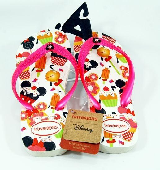 Ojotas Havaianas De Nena Disney Candy - Talle 29/30