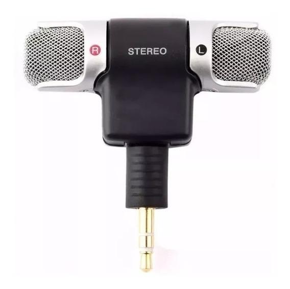 Microfone Mini Stéreo P2 Celular Android iPhone Camera/entrg