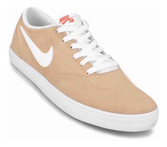 Zapatillas Nike Check Solar - Beige + Blanco - Hombre