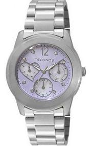 Relógio Technos Fashion 6p29gr/1g Prata