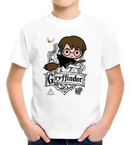 Camiseta Infantil Harry Potter Gryffindor