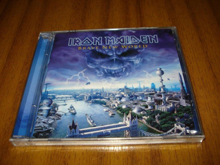 Cd Iron Maiden / Brave New World (nuevo Y Sellado) Europeo