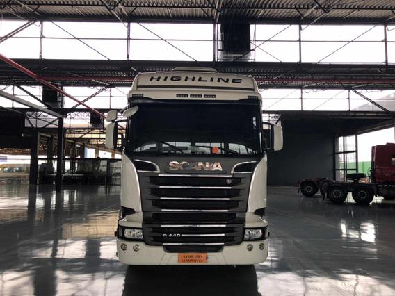 Scania R440 Highline 6x4 Optcruise = Volvo Fh540 = Axor 2644