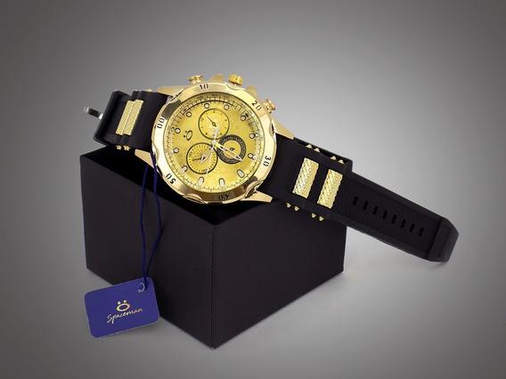 Relógio Masculino Pulseira Silicone Frete Grátis!