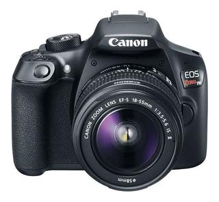 Remate Canon Rebel T6 Ef-s 18-55mm + Memoria Sd
