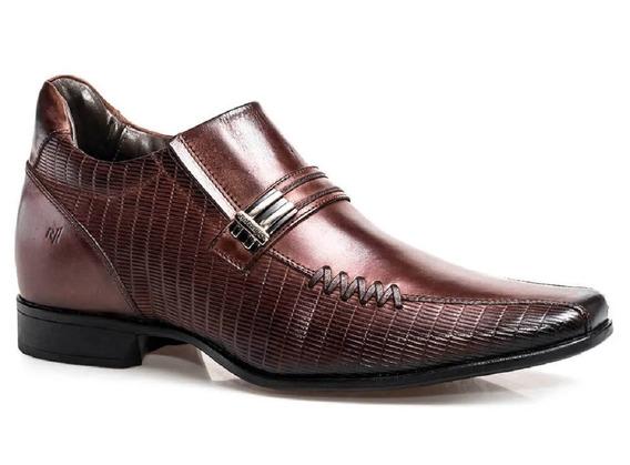 Sapato Rafarillo Vegas Alth Você + Alto 7cm 3263 Couro