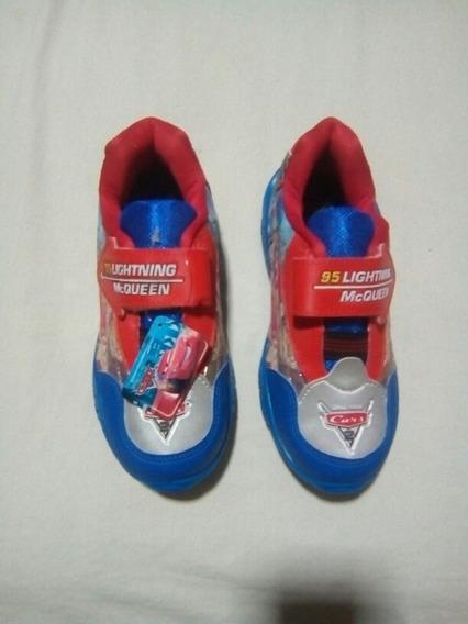 Sapato Dos Carros Cor Azul Numeração 31.