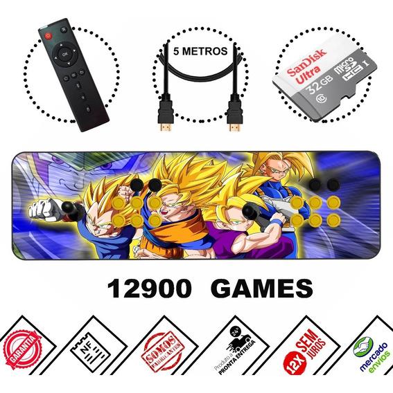Fliperama Portátil 12100 Jogos + Multimídia ! Modelo 2020!