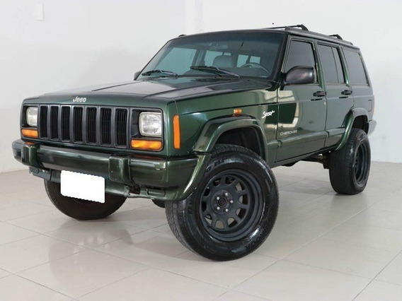 Jeep Cherokee Sport 4.0 Verde Gasolina 4p Aut. 1998