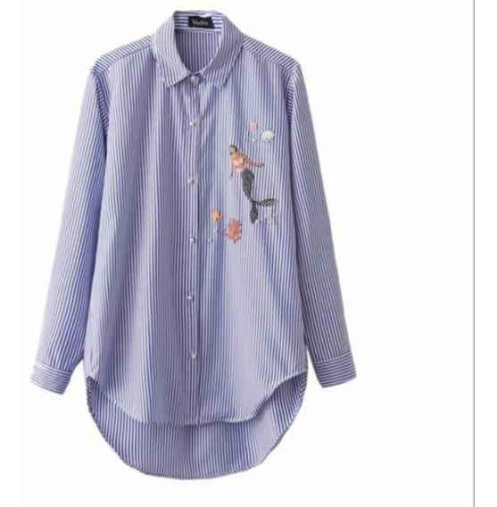 Camisa Zara Basic Talle L