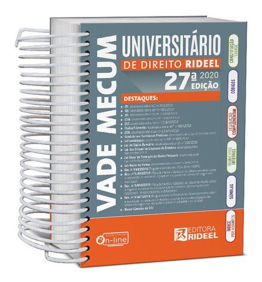 Vade Mecum Universitário De Direito Rideel Edição Atualizada