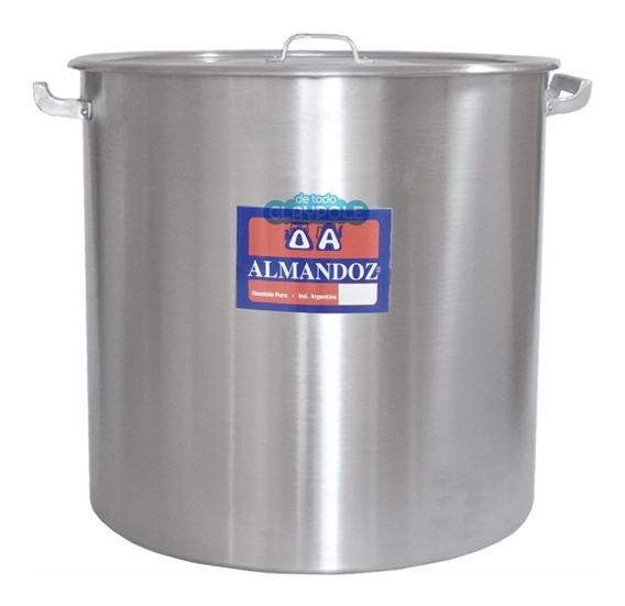 Olla Gastronómica Aluminio Reforzado N°40 - 50 Lts
