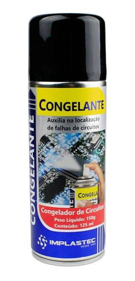 Congelante Spray Para Circuitos Eletronica Implastec 125 Ml