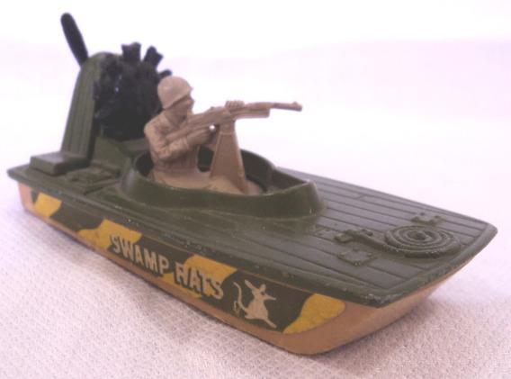 Matchbox Swamp Rat Año 1976 N° 30 Lancha Militar Superfast