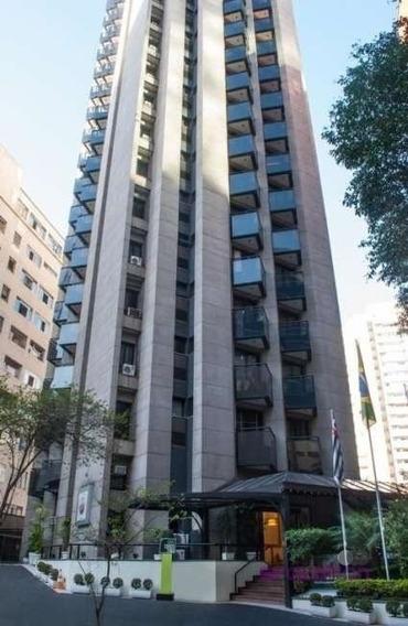 Flat Mobiliado Para Alugar Na Consolação - São Paulo, Sp - 966