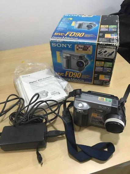 Sony Mavica Mvc-fd90 Funcionando