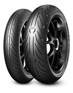 Par Pneus Pirelli Angel Gt2 120/70-17+190/55-17 K1600 Gt Gtl