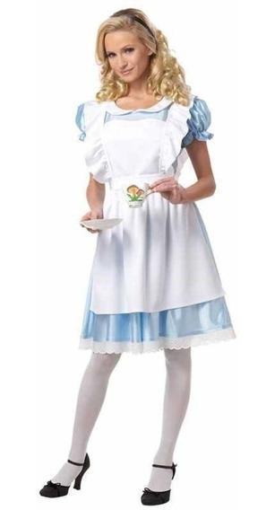 Disfraz Alicia Disney Pais Maravillas California Mujer Dama