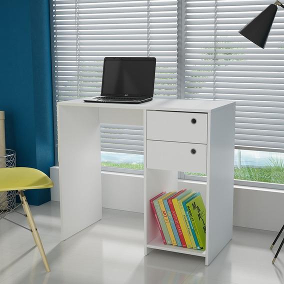 Mesa/escrivaninha Para Computador Bc 38 - Branco