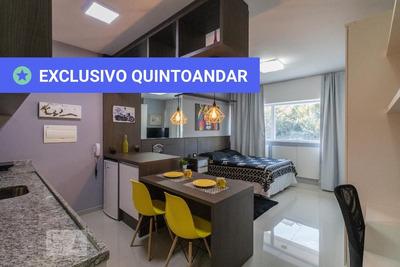 Studio No 3º Andar Mobiliado Com 1 Dormitório - Id: 892918198 - 218198