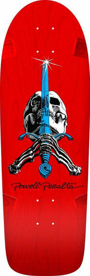 Tabla De Skate Powellperalta Og Rodriguez Skull And Sword 10