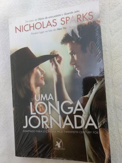 Livro Uma Longa Jornada / Novo / Nicholas Sparks / Romance