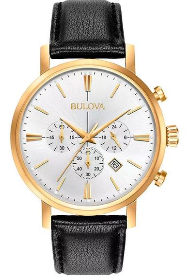 Relógio Bulova Masculino Slim 97b155 / Wb22417b