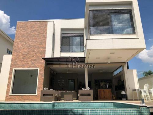 Imagem 1 de 30 de Casa Com 4 Dormitórios À Venda, 350 M² Por R$ 2.670.000,00 - Jardim Vila Paradiso - Indaiatuba/sp - Ca1666