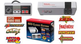 Nes Classic Edition Nintendo Nintendinho Original Mini