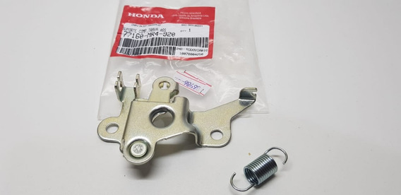 Kit Suporte Trava Banco+ Mola Honda Cbx 250 Twister Original