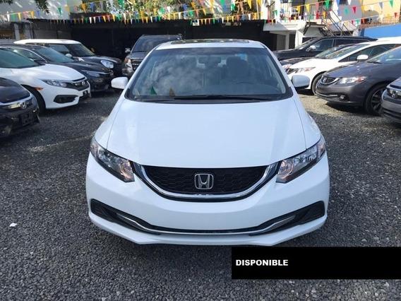 Honda Civic Ex 14 Blanco