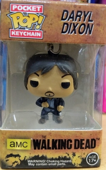 Funko Pop Llavero Twd Daryl Dixon The Walking Dead Keychain