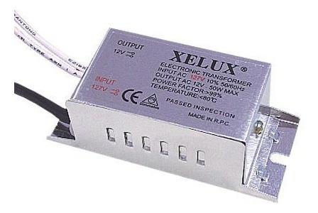 Transformador Eletrônico Dicroica Dimerizável 50w 127v Xelux